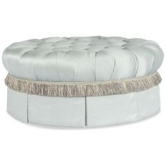 Fringed and Tufted Ottoman