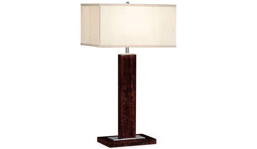 Table Lamps Rectangular table lamp