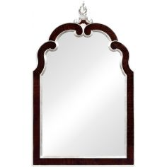 Gilded hanging mirror