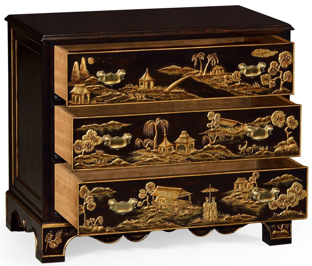 best cheap eeefe d3c51 Chinoiserie nightstand drawer