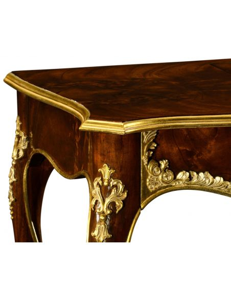 Dressing Vanities & Furnishings Dressing table with gilt carved detailling