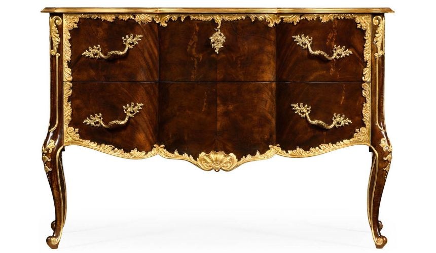 Chest of Drawers Gilded Victorian style chest of drawers