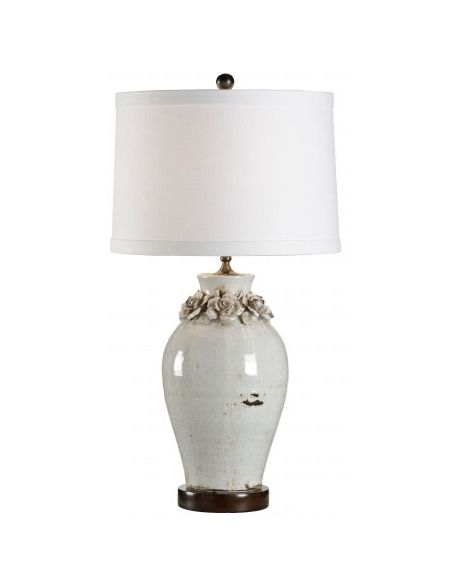 Decorative Accessories Pure White Bruised Lamp