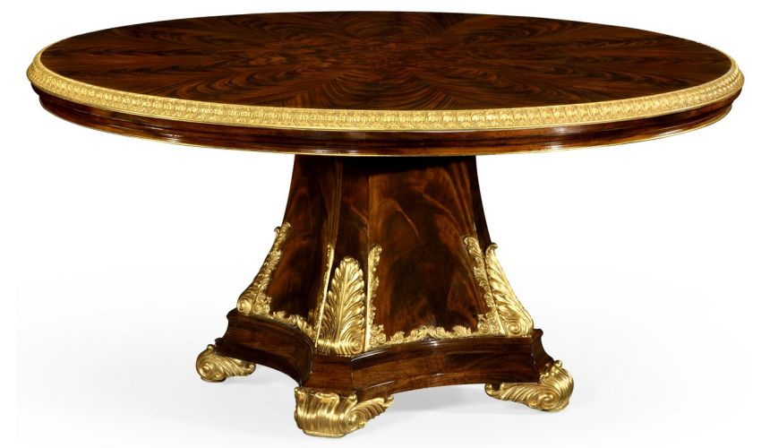 Dining Tables Round formal dining table