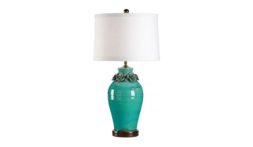 Decorative Accessories Intricately Designed Aqua Urn Lamp