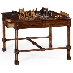 Chippendale gothic games table (large)