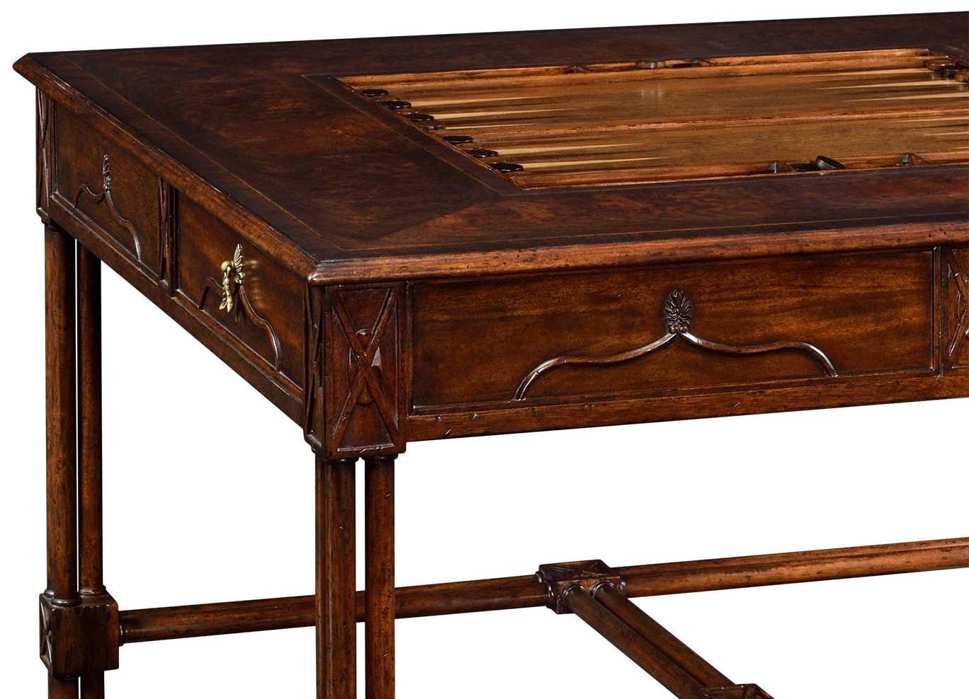 Game Card Tables U0026 Game Chairs Chippendale Gothic Games Table (large)
