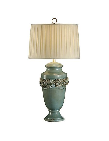 Decorative Accessories Pale Turquoise Amphora Lamp