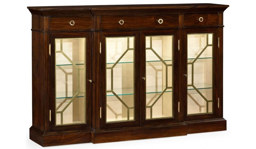 Breakfronts & China Cabinets Breakfront display cabinet