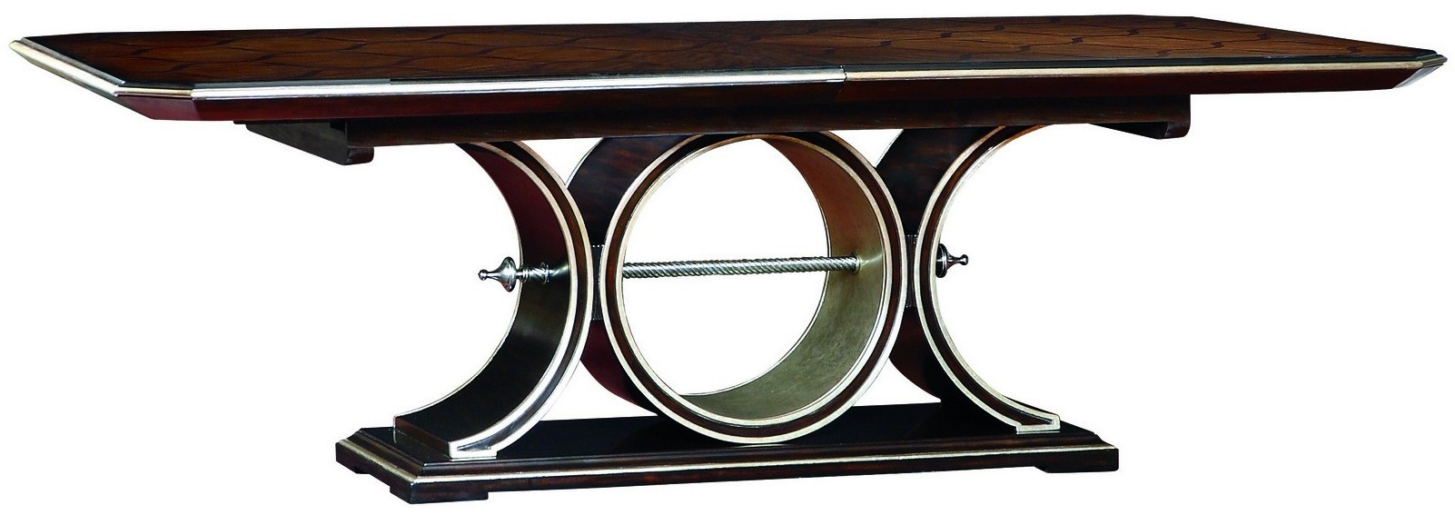 Dining Tables Art Deco Table With Beautiful Wooden Inlay Work