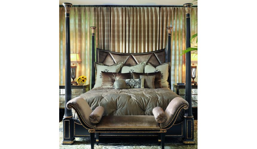 BEDS - Queen, King & California King Sizes Stunning four poster bed