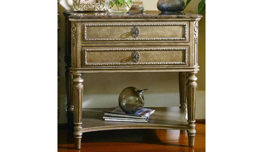 Chest of Drawers French Provencal influenced nightstand