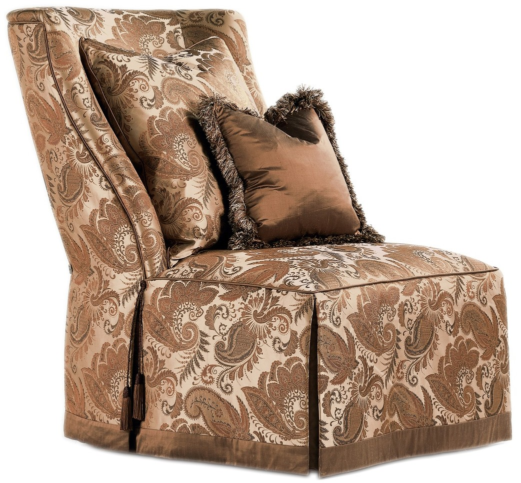 Slipper Chair Paisley Slipper Chair