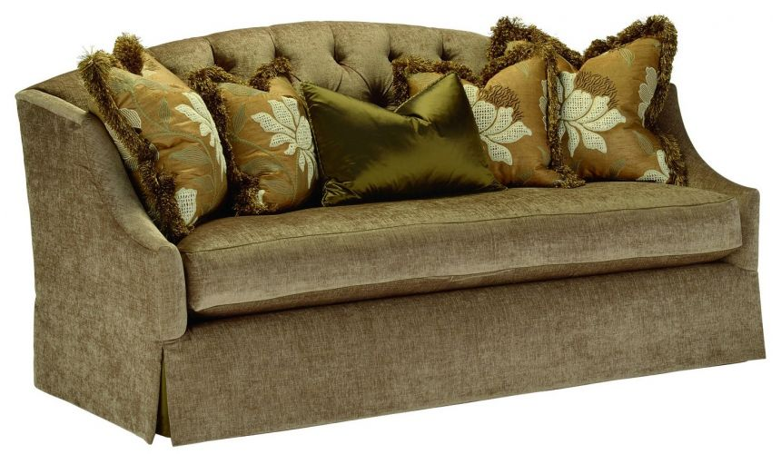 SOFA, COUCH & LOVESEAT Retro sofa with tufted back