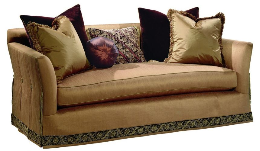 SOFA, COUCH & LOVESEAT Beautiful sofa wrapped in warm earth tones