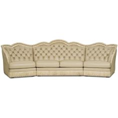 Grand sectional sofa from our Lavish leathers collection