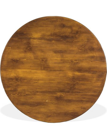 Dining Tables Pine Wooden Round Dining Table