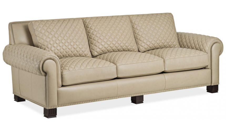 6218-3-Q Parisian Quilted Sofa