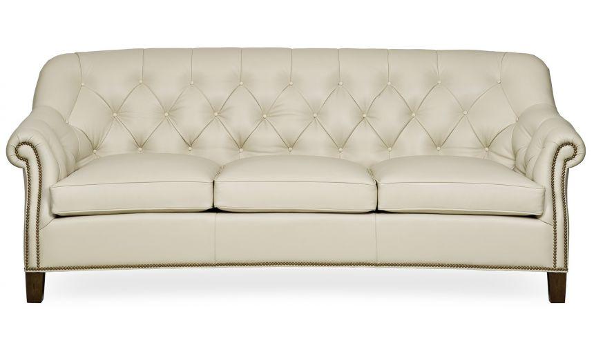 6211-3 Rita Button Tufted Sofa