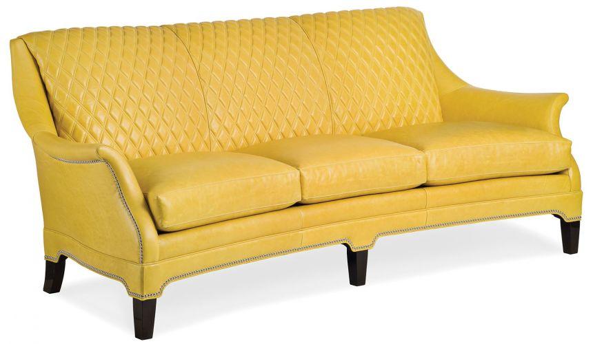 6116-3-Q Sculpture Quilted Sofa