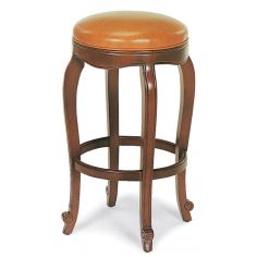 Lux leather bar stool