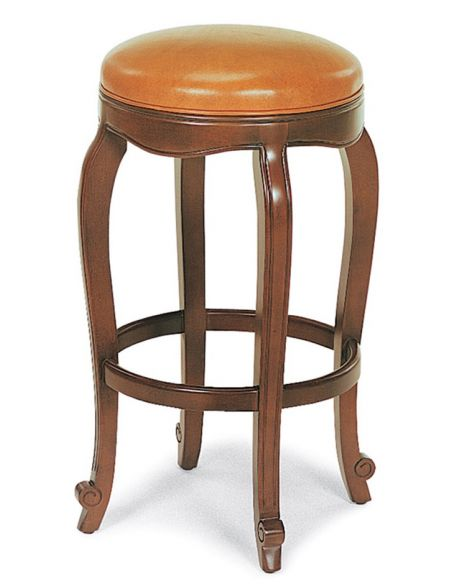 Unique Counter & Bar Stools Lux leather bar stool