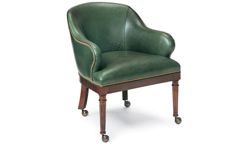 Office Chairs Forest green club chair
