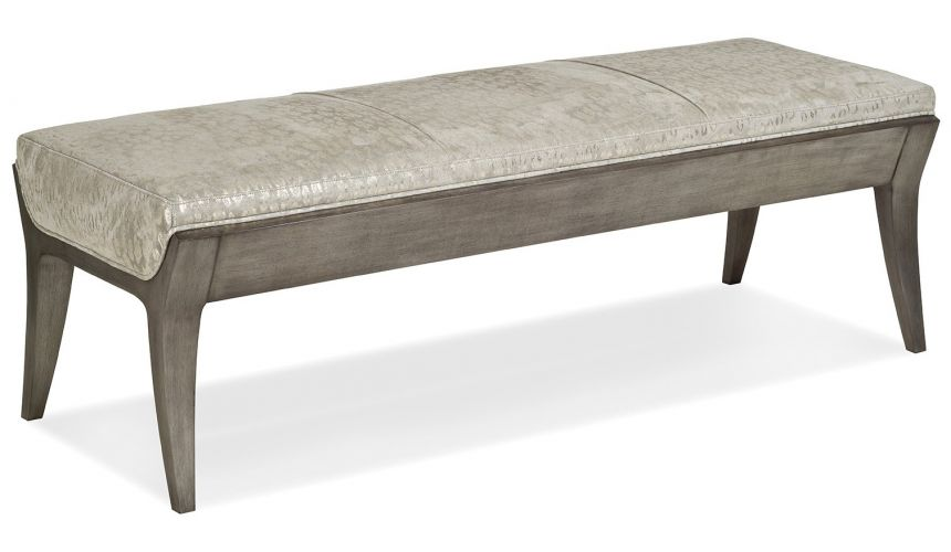 SETTEES, CHAISE, BENCHES Wood and metallic bench