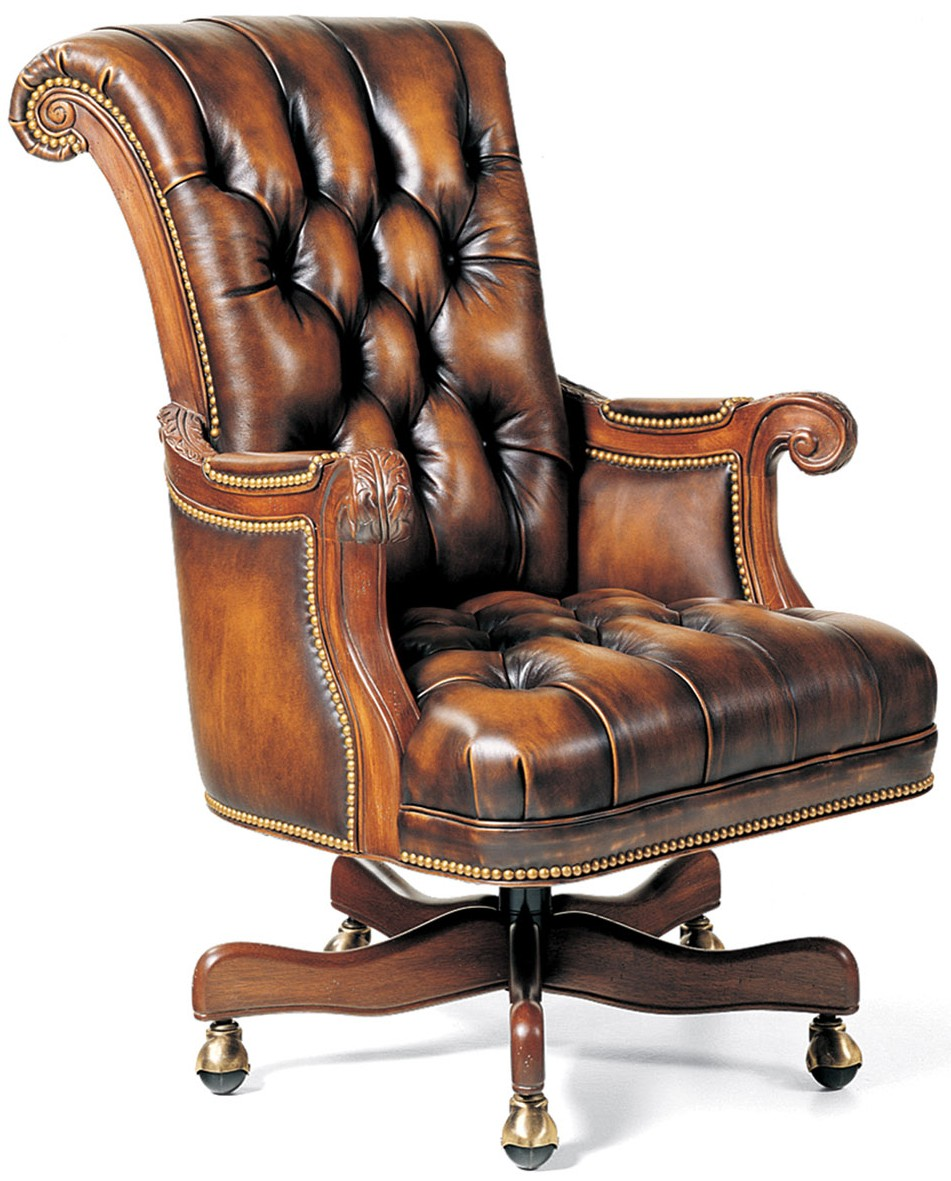 Picture of: Classic Leather Office Chair