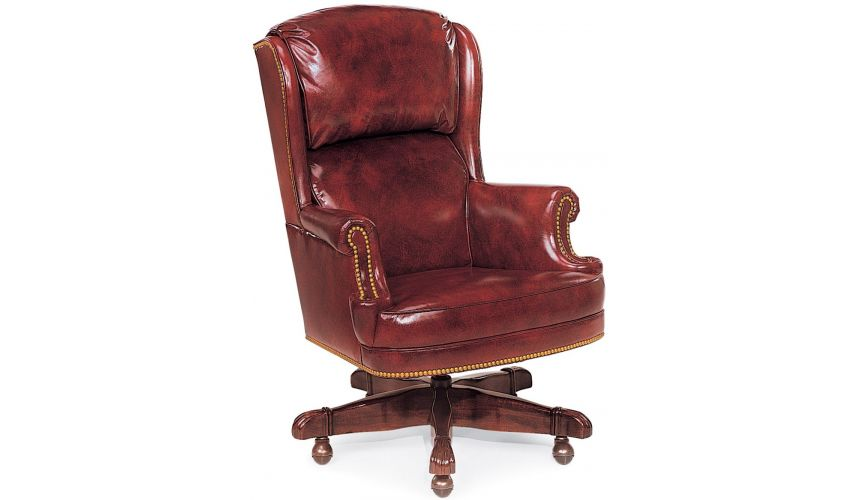 Office Chairs Cordovan leather office chair