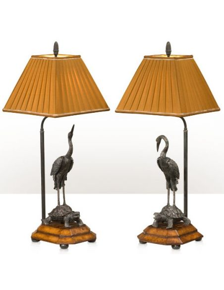Table Lamps Meiji Cranes