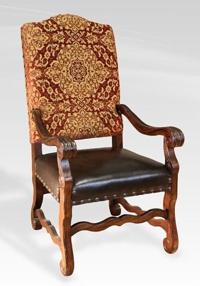 Rustic Leather Dining Chairs leather dining chairs with arms. chicago. silla chapital with arms