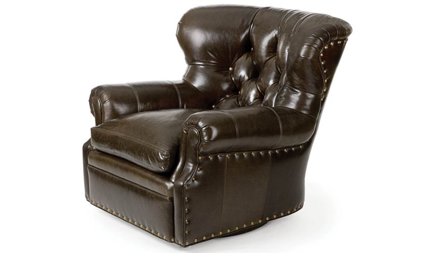 4691-S Author Swivel Chair