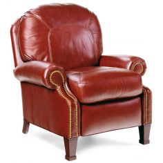 Cordovan leather recliner