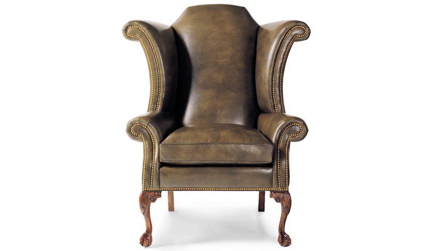 9752 George III Wing Chair