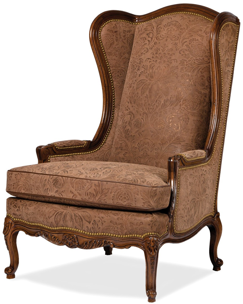 Classic wing backed chair - Bernadette Livingston
