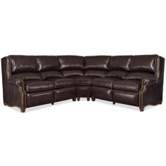 Grand leather sectional