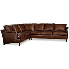 Lux leather sectional