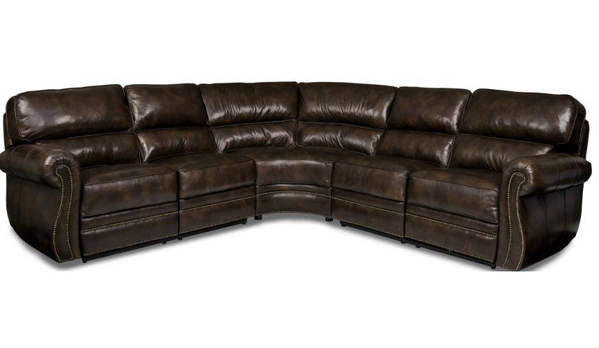 SECTIONALS - Leather & High End Upholstered Furniture Woodlands Sectional Sofa