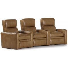 Lux leather theater style power recliners