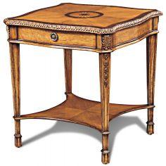 Birdseye Maple Side Table