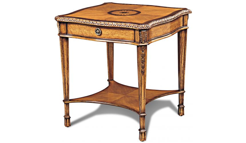 Square & Rectangular Side Tables Birdseye Maple Side Table