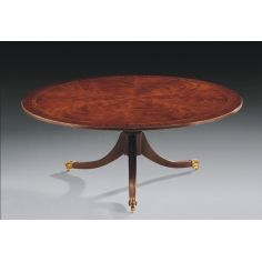 High End Furniture Round Cocktail Table