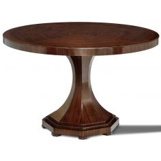 Brazilian Rosewood Round Dining Table