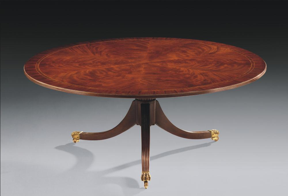 High end furniture round cocktail table for High end coffee table