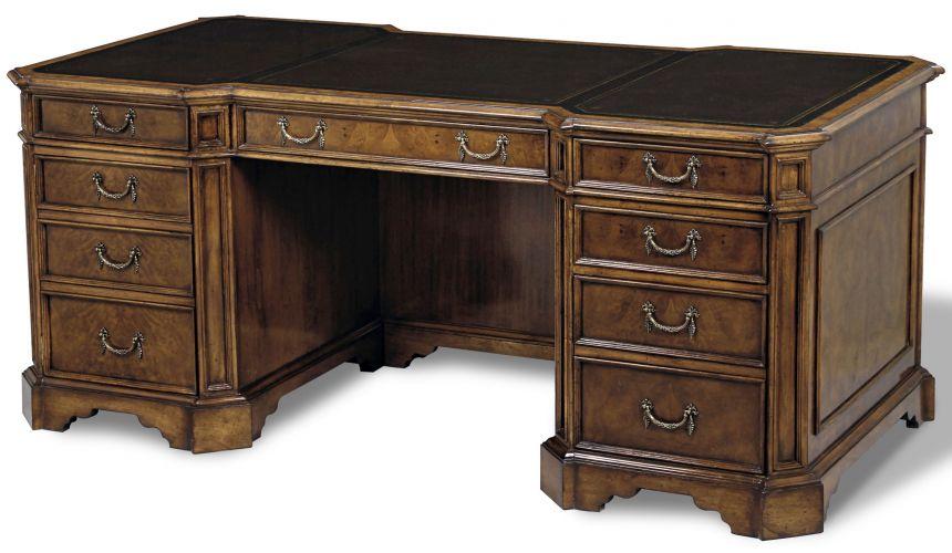 Executive Desks Myrtle Burl Writing Desk