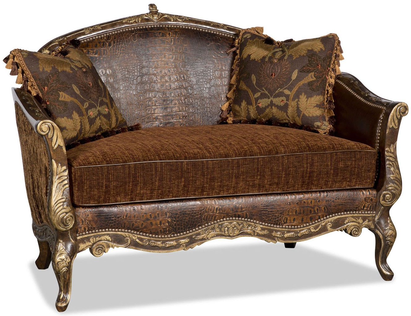 Settees Chaise Benches New Orleans French Quarter Style Gator Settee