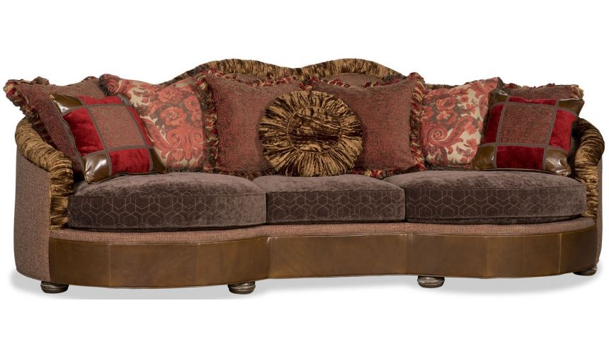 French Style Furniture Comfortable family room sofa