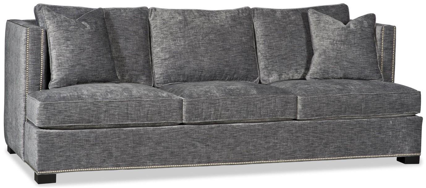 Stunning Contemporary Style Smoke Grey Sofa