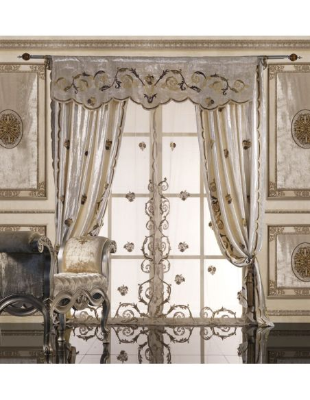 Custom Window Treatments Hand made draperies from our Masterpiece Collection. 5
